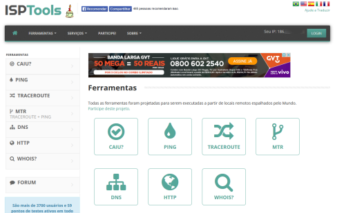 ISPTools - ferramentas